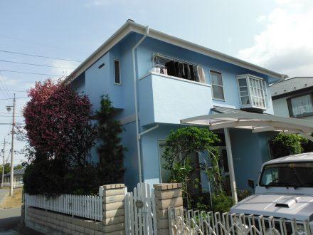 外壁屋根塗装工事 松本市寿北