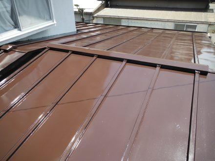屋根塗装 松本市新村