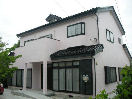外壁塗装 松本市井川城